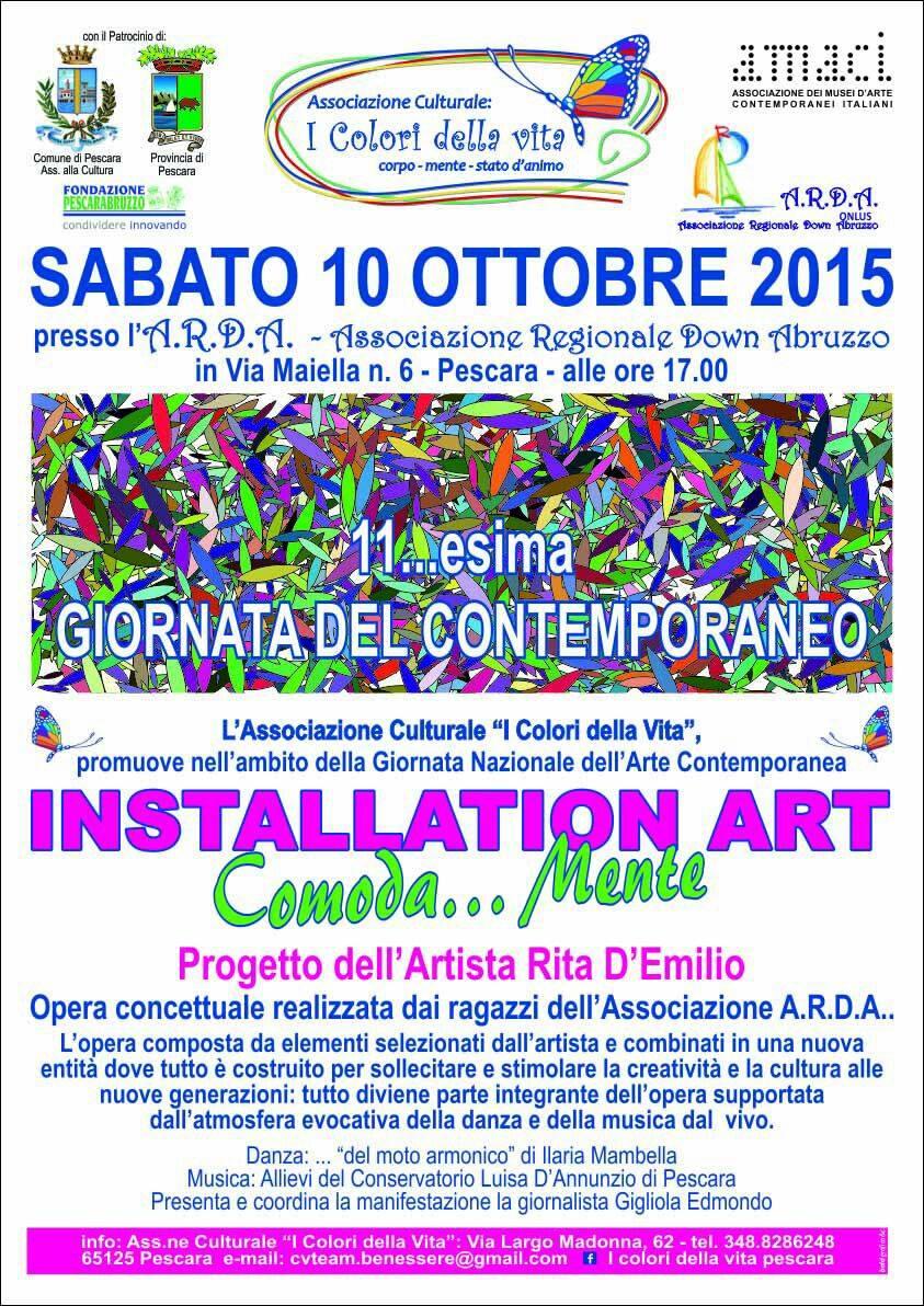 Arte a Pescara:  i colori della solidarietà