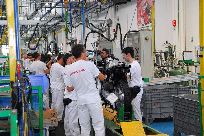 Honda Atessa: Mensa all'italiana