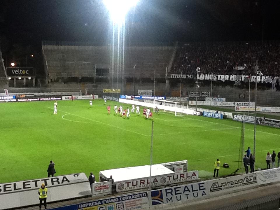 Ascoli Pescara aggiornamenti live