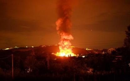 Discarica incendiata a Chieti, WWF: servono le videocamere