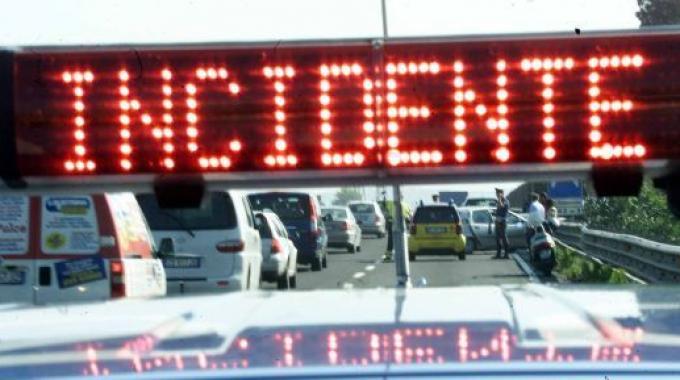 Pescara: brutto incidente sull'Asse Attrezzato
