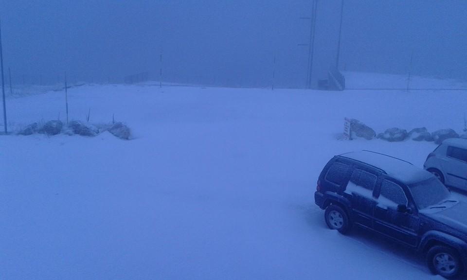 Prima neve sulla Majella (Immagini dal Rifugio Pomilio)