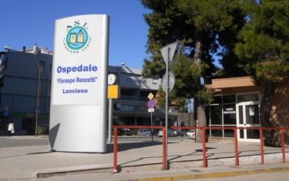 Lanciano: ospedale Renzetti, personale decimato dall'influenza