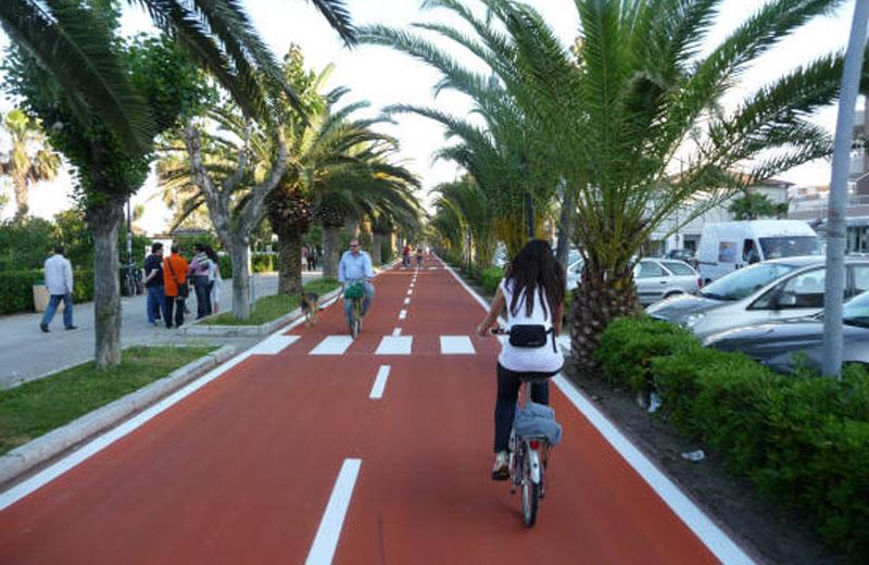 Roseto: ok alla pista ciclopedonale