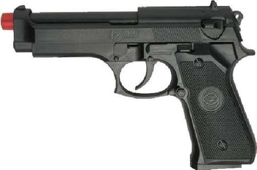 Vigile in pensione minaccia vicina con pistola giocattolo