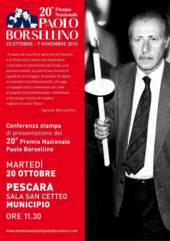 Pescara: i vent'anni del Premio Borsellino