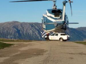 ricerche in elicottero