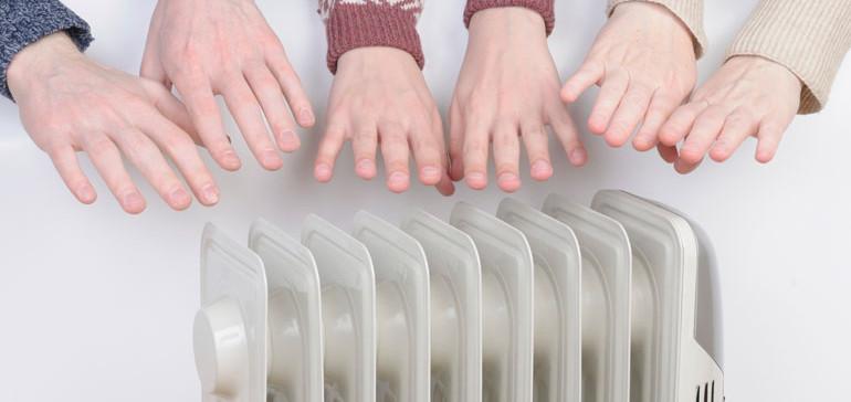 Chieti: accensione anticipata riscaldamento