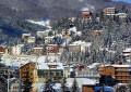 Neve in Abruzzo: Roccaraso isolata