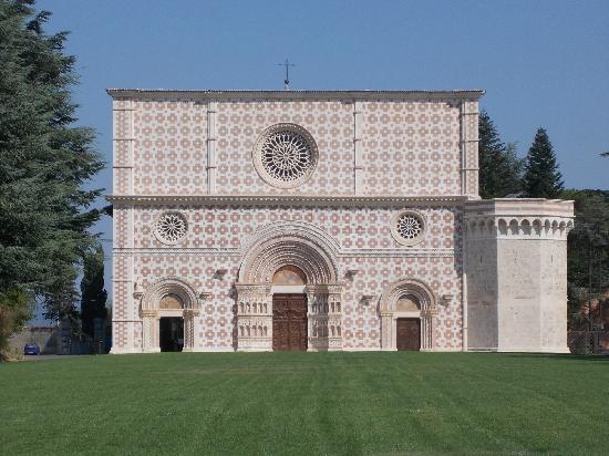 Basilica di Collemaggio a L'Aquila: si sceglie la ditta