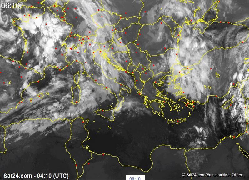 Meteo Abruzzo, mercoledì a rischio precipitazioni