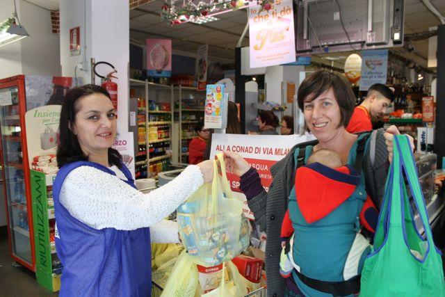 Spesa sospesa a Pescara: Da lunedi alla Conad di Via Milano