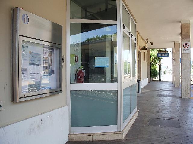 A Roseto in stazione sala d'attesa fantasma