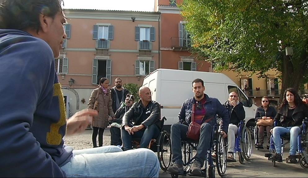 "Teramo, tour in città per ""Carrozzine Determinate"""