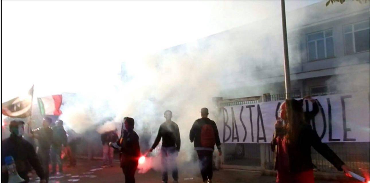 A Lanciano 'Blocco studentesco' in protesta
