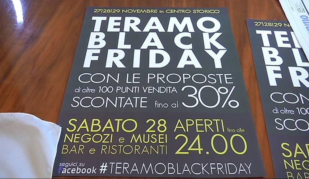"""Commercio, nel weekend arriva il """" Teramo Black Friday """""""