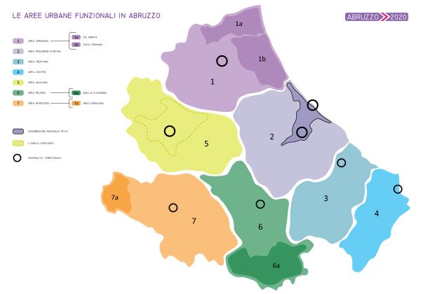 Ricerca Abruzzo 2020: Coalizione tra i Comuni ed aree ottimali