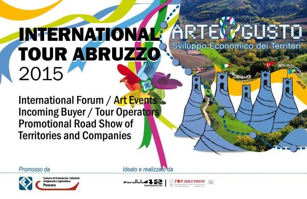 """""""Arte&Gusto"""" 2015: Forum Abruzzo-Turchia-Regno Unito"""