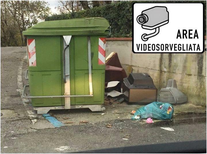 A Pescara telecamere anti sporcaccioni