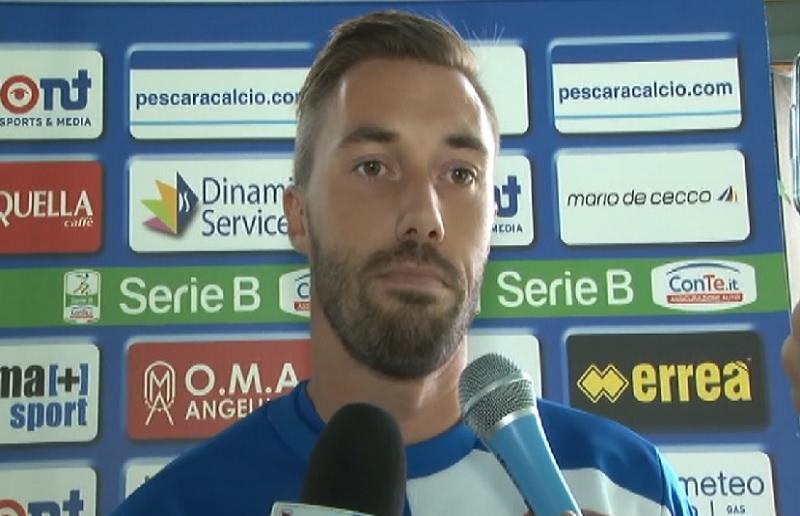 Pescara calcio Fiorillo: infortunio da valutare