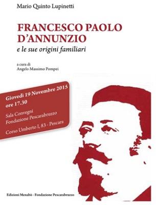 Francesco Paolo D'Annunzio e le sue origini familiari