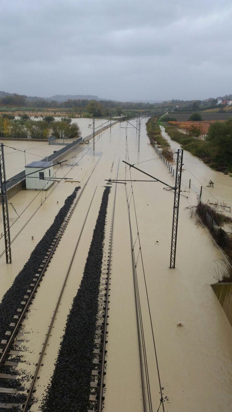 Maltempo in Abruzzo, ripresa la circolazione dei treni