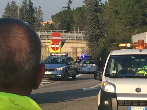 Incidente mortale al casello di Pescara Ovest