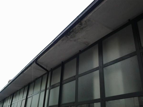 Mercato Santa Chiara Vasto: Infiltrazioni dal soffitto