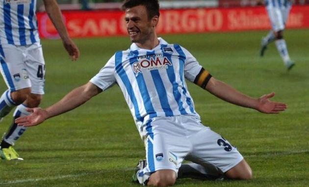 Pescara calcio, si ferma il capitano