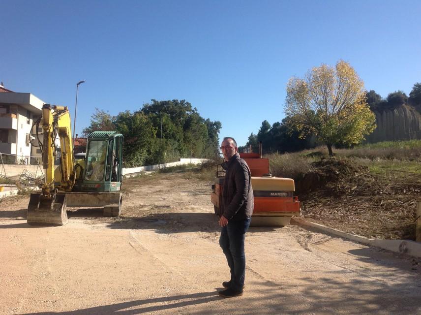 Via Saragat Montesilvano: Ripartono i lavori