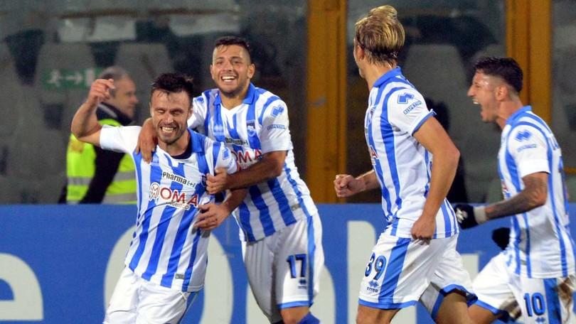 Pescara calcio, prima crisetta