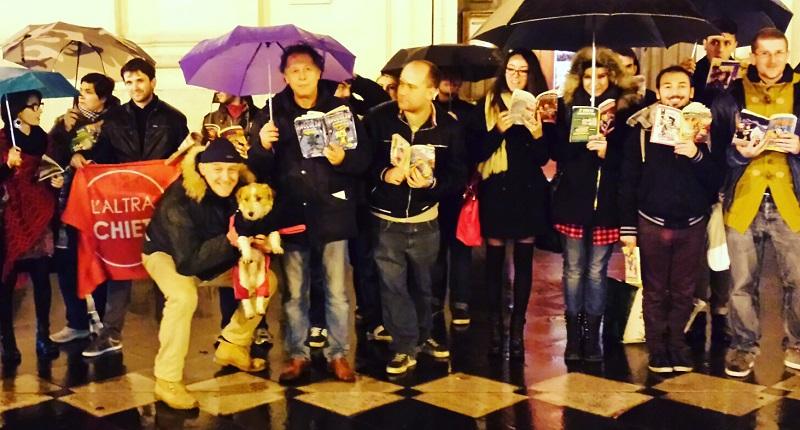 Arcigay e l'Altra Chieti in piazza contro intolleranza