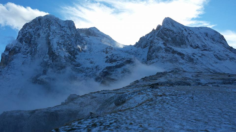 Maltempo in Abruzzo: pioggia, neve e temperature polari