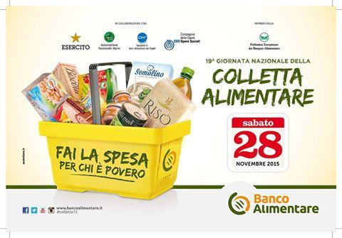 Oggi in Abruzzo la Colletta Alimentare