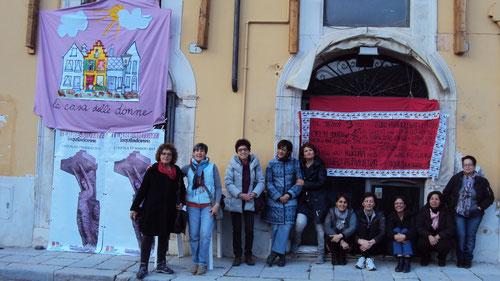 L'Aquila, Casa delle donne: oggi l'inaugurazione
