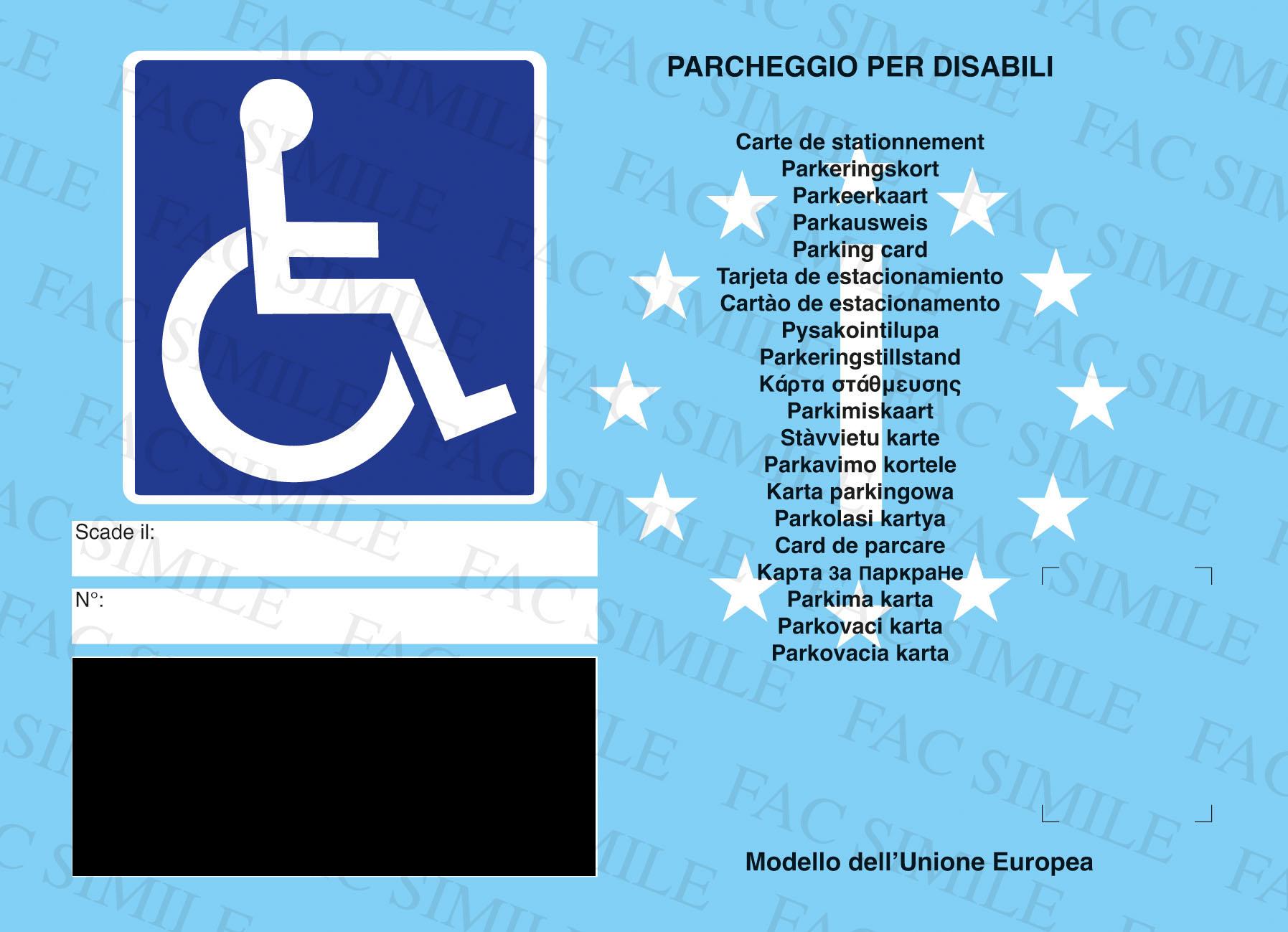 Sequestrati contrassegni per disabili …deceduti