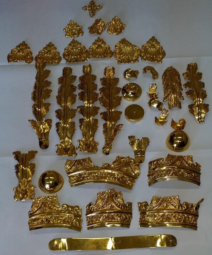 Atessa, rubata corona in chiesa, ritrovata dal compro oro