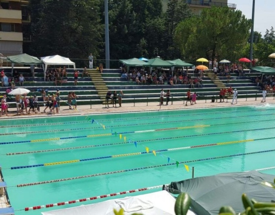 Piscina Chieti, via la Teate Splashing