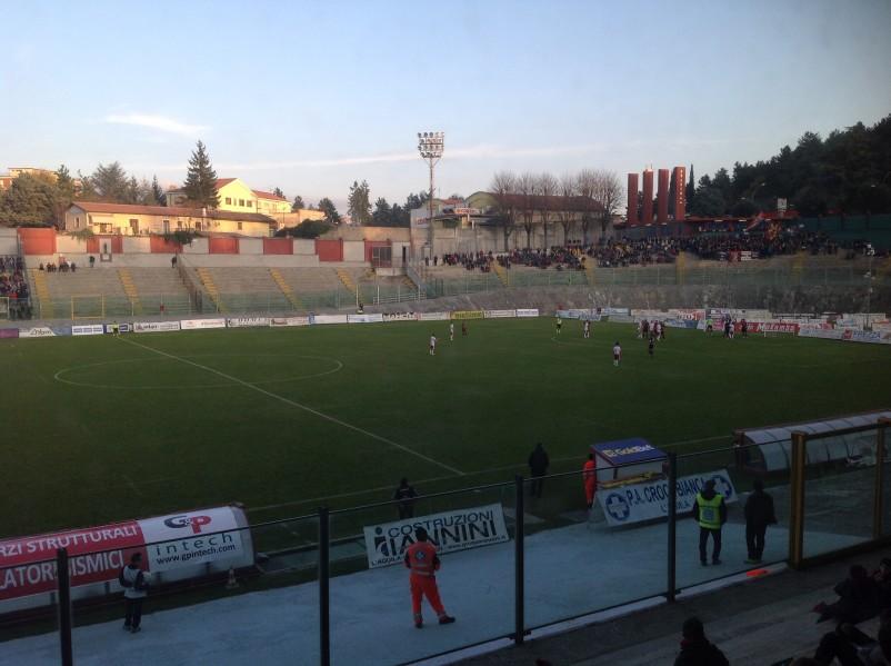 Lega Pro L'Aquila Teramo – Festa rossoblu