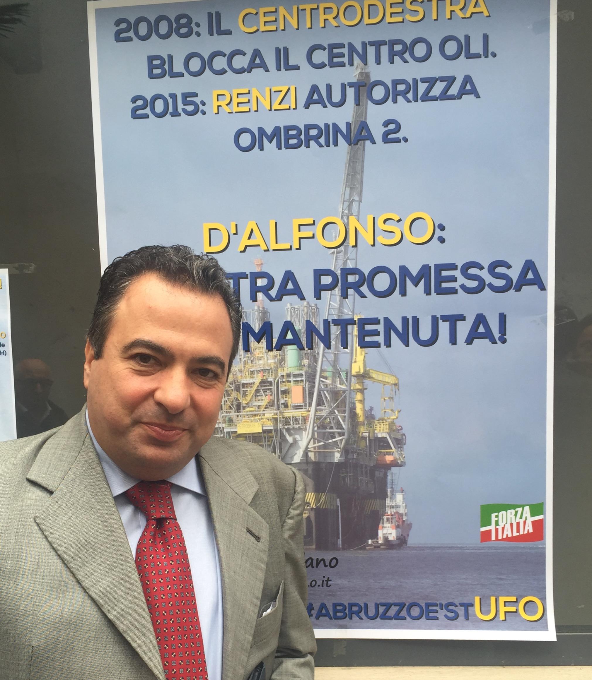 Ombrina: a San Vito manifesta il centrodestra