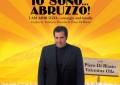 """Federico Perrotta porta """"Io sono Abruzzo"""" nella Grande Mela (e su Rete8)"""