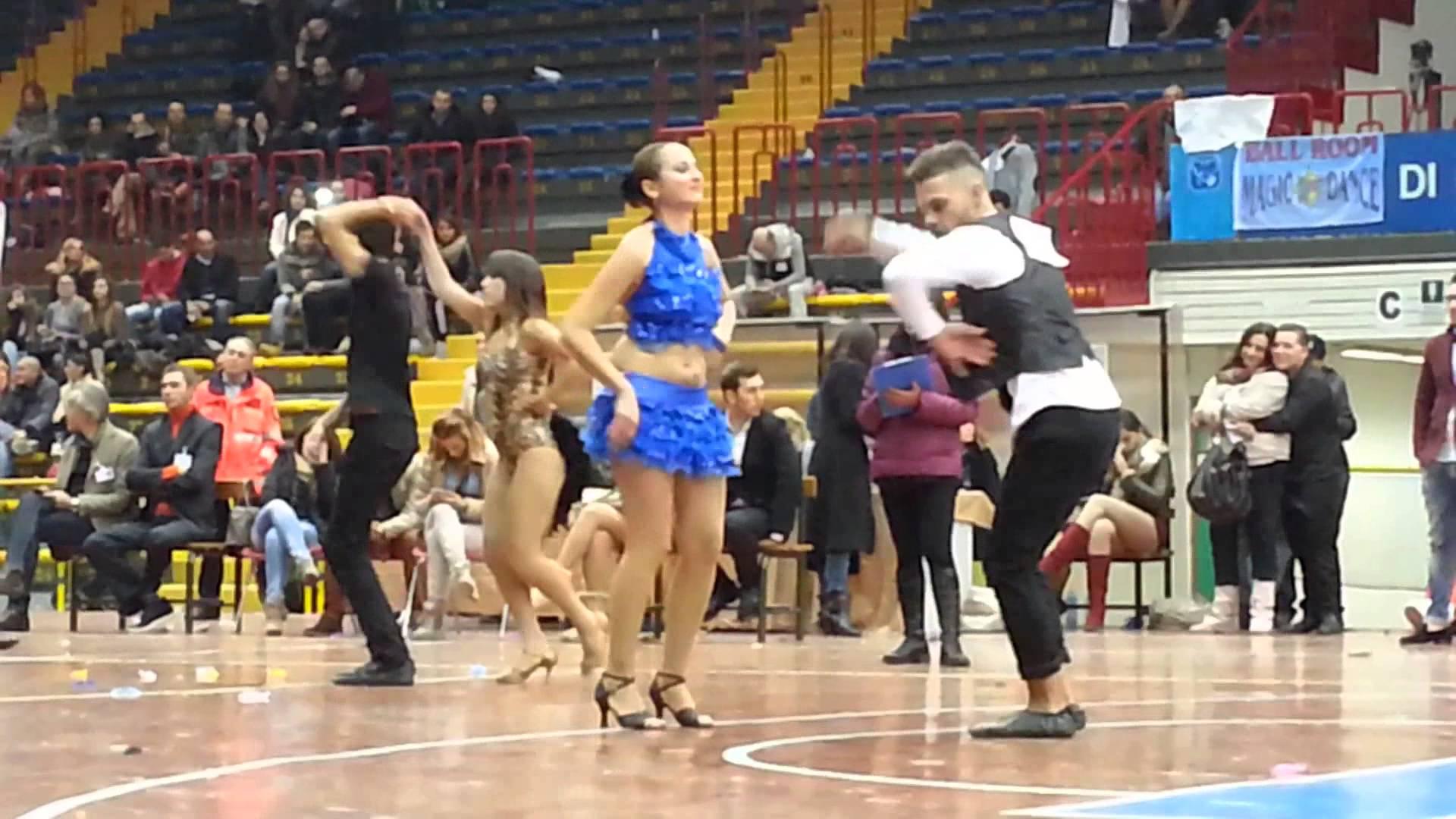 A Chieti Salsa cubana 1- volley femminile 1