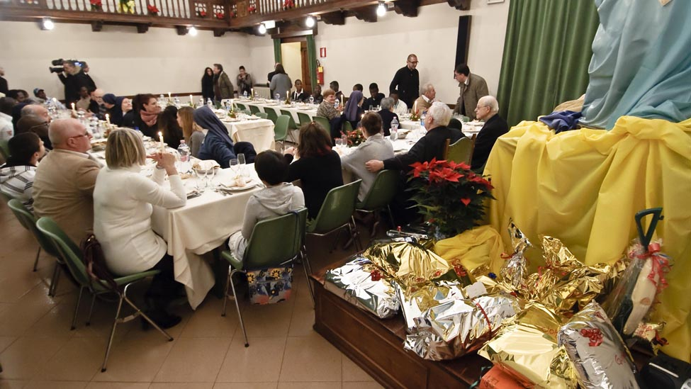 Montesilvano: Mensa per i poveri a Villa Falini