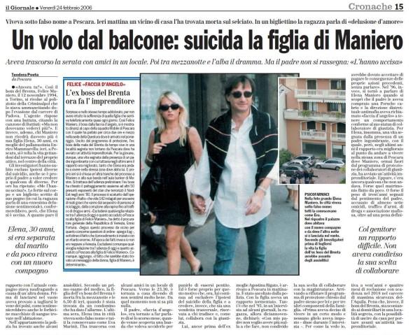 """Morte della figlia di Maniero: """"Non fu un suicidio"""""""