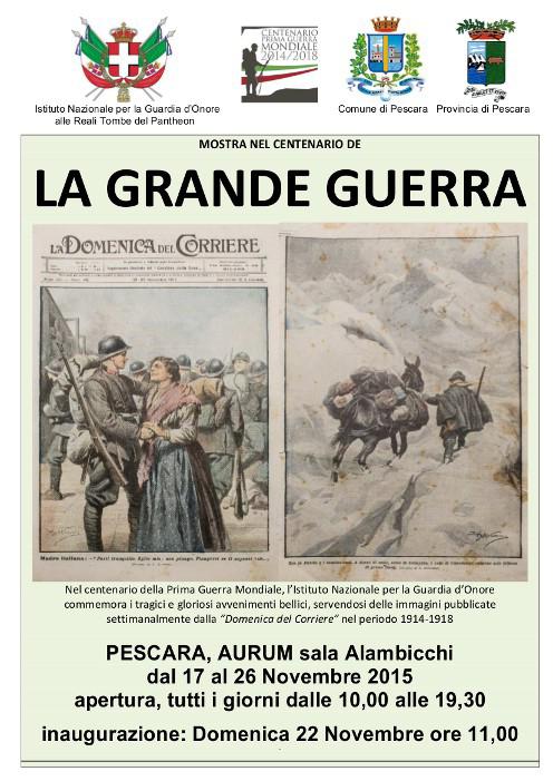 La Grande Guerra in mostra all'Aurum