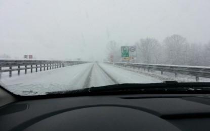 Neve in Abruzzo. Oggi fiocca nell'interno, aggiornamenti