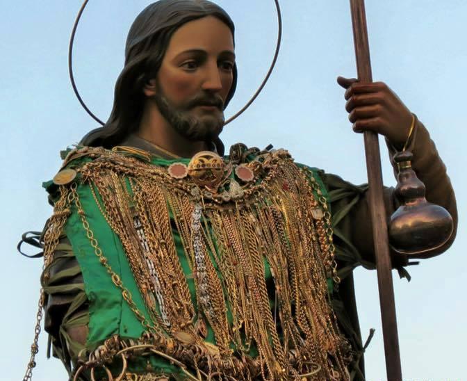 Orsogna: gli ex voto di San Rocco già fusi