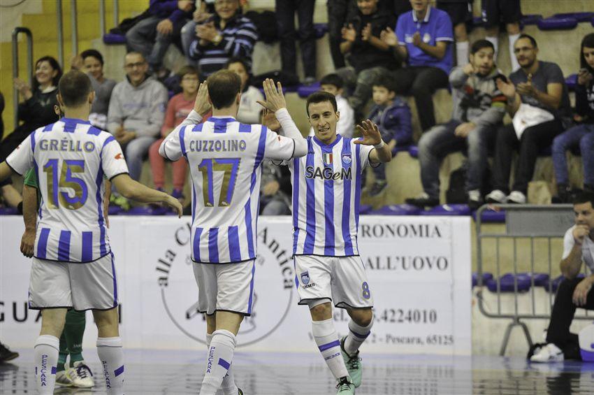 Calcio a 5 Pescara – Un pari nel recupero
