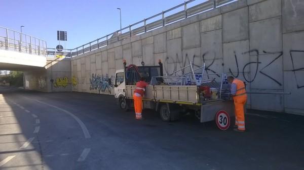 Pescara, Ponte della Libertà tutto agibile