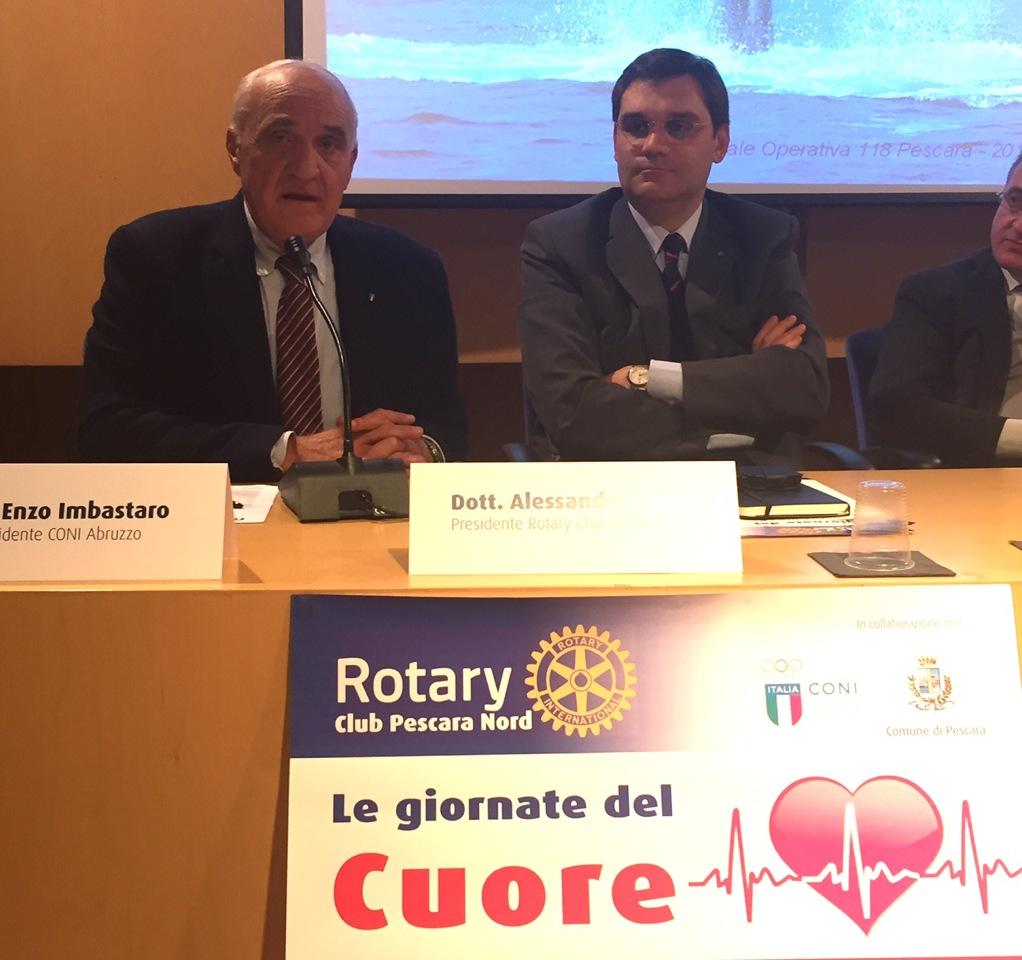 Rotary Pescara Nord, un defibrillatore per la vita